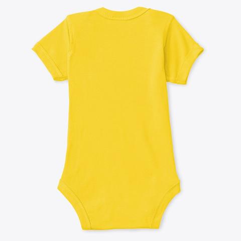 Mod.58 Cutiez Wear Cute Little Tiger Ver2 Yellow  T-Shirt Back