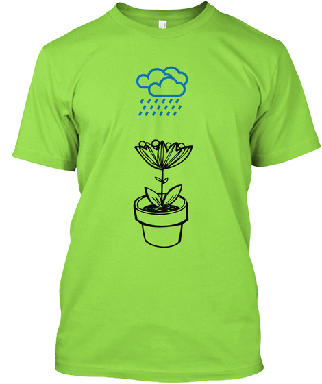 Tears Show Strength... Lime T-Shirt Front