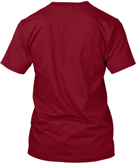 Latino Hip Hop Cranberry T-Shirt Back