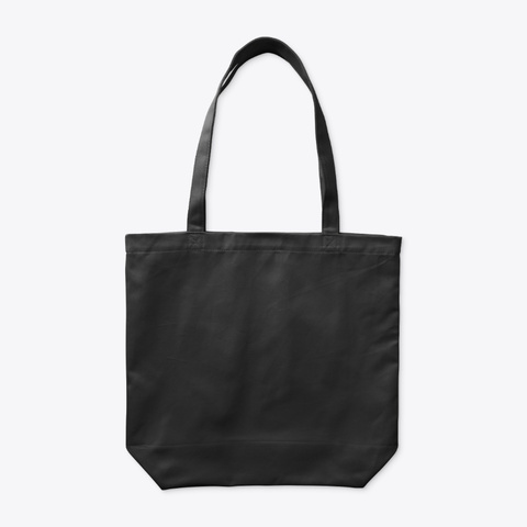 Tote Bag   City Collection Black T-Shirt Back