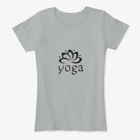 Yoga  Grey T-Shirt Front