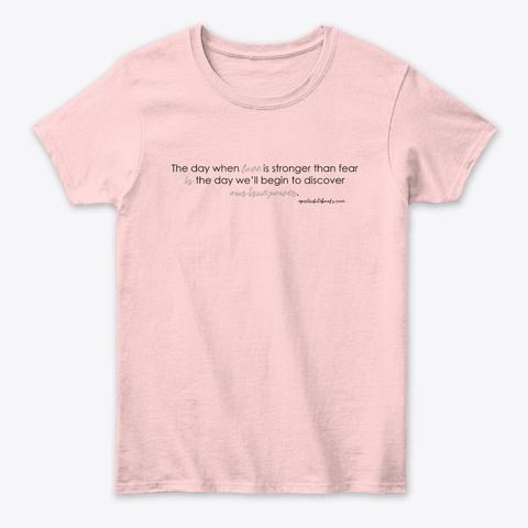 True Power (Light) Light Pink T-Shirt Front