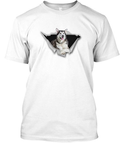 Limited Edition   Alaska   Dsa White T-Shirt Front