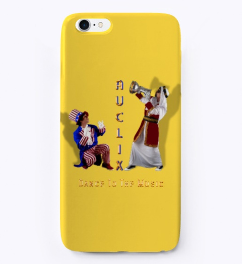 I Phone And Samsung Cases Yellow Maglietta Front