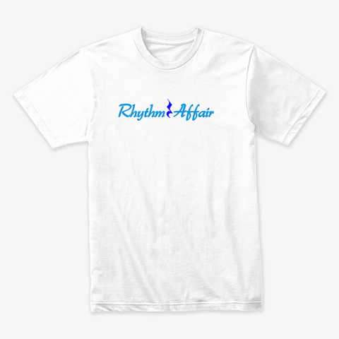 Rhythm Affair Quarter Rest White Camiseta Front