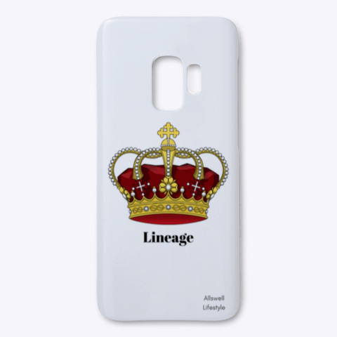 Royals Samsung Case   Allswell White T-Shirt Front