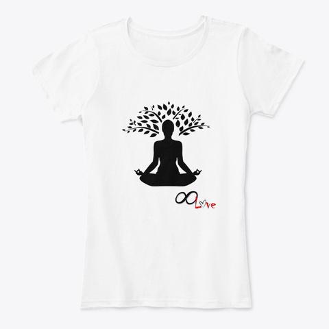 Infinite Love M Editation White T-Shirt Front