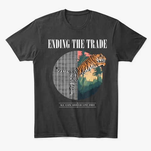Ending The Trade Black Camiseta Front