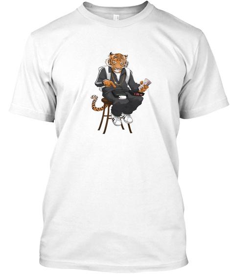 Tiger Ata Tee White T-Shirt Front