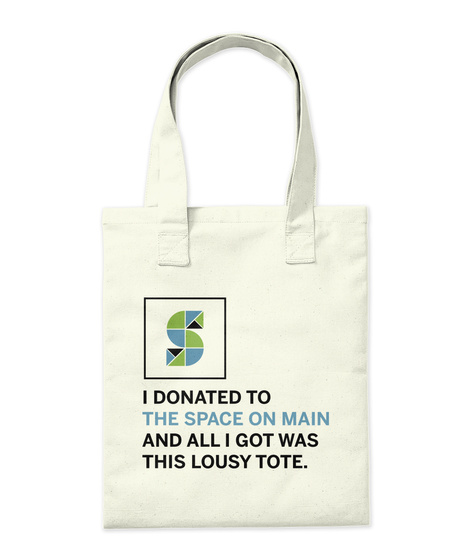 Som Lousy Tote Natural Tote Bag Back