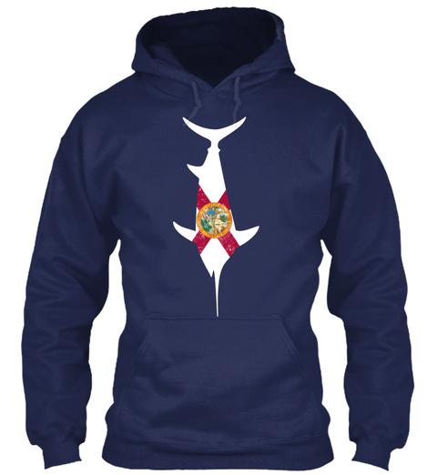 3/29 Marlin States Fl Navy T-Shirt Front