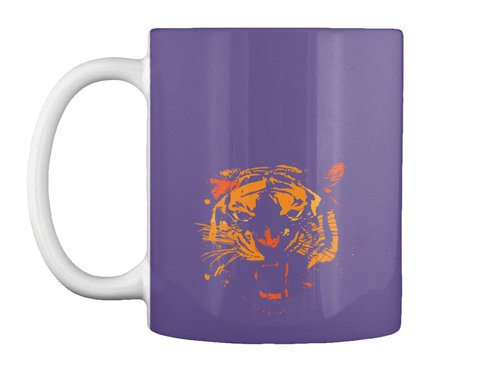 Tiger One Purple T-Shirt Front