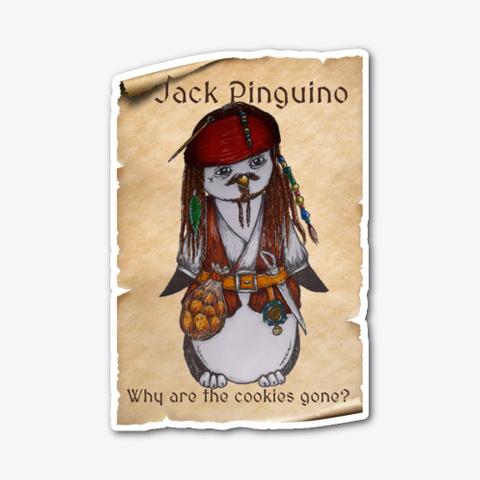 Jack Pinguino Standard T-Shirt Front