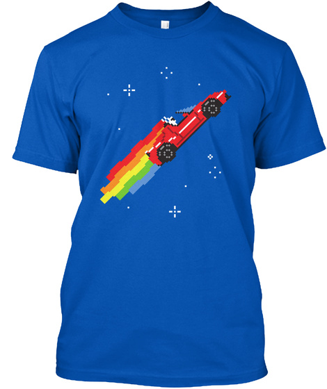 Nyan Roadster [Usa] #Sfsf Royal T-Shirt Front