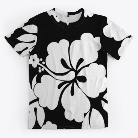 Hibiscus Flower Floral Standard T-Shirt Front