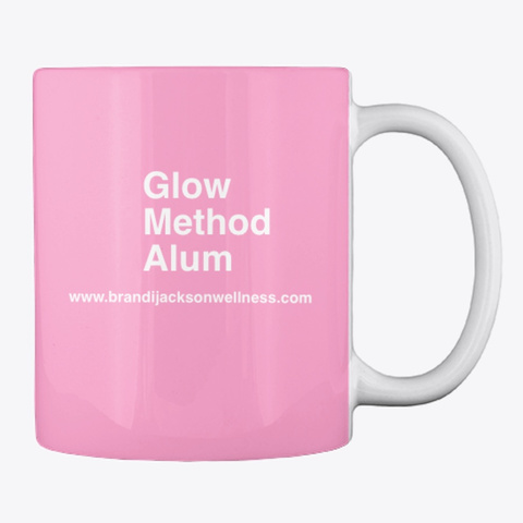 Glow Method Mug Pink Camo T-Shirt Back
