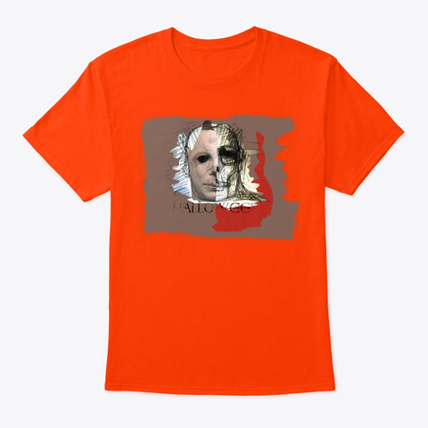Halloween (By Acci) Orange T-Shirt Front