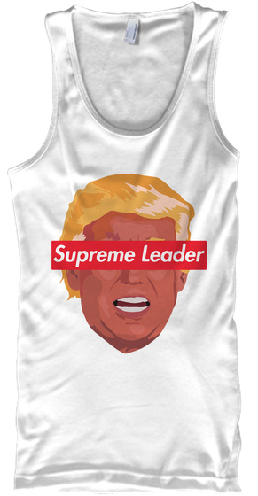 Donald Leader   Limited Edition White T-Shirt Front