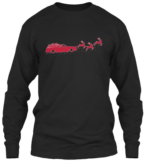 Na  Black Long Sleeve T-Shirt Front