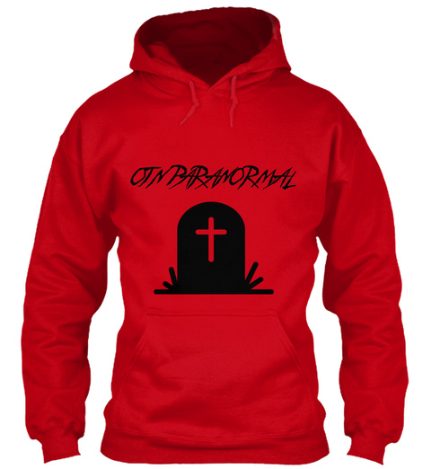 Otn Paranormal Red T-Shirt Front