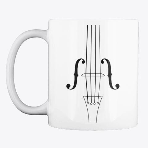 Violin Practice Fuel Magical Mug White T-Shirt Front