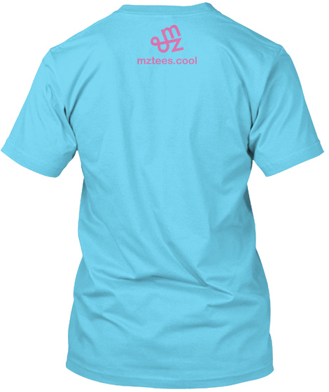 Outlet Love Tahiti Blue T-Shirt Back