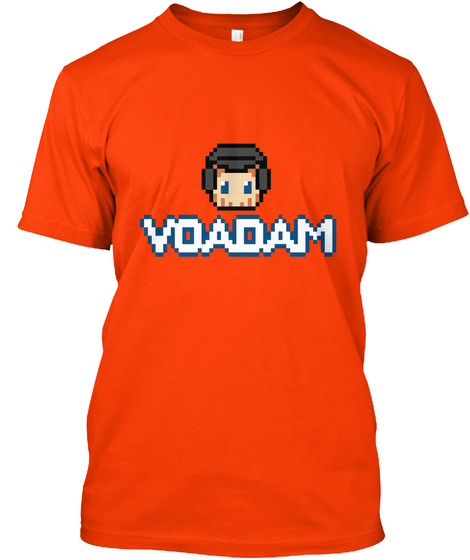Voadam Orange T-Shirt Front