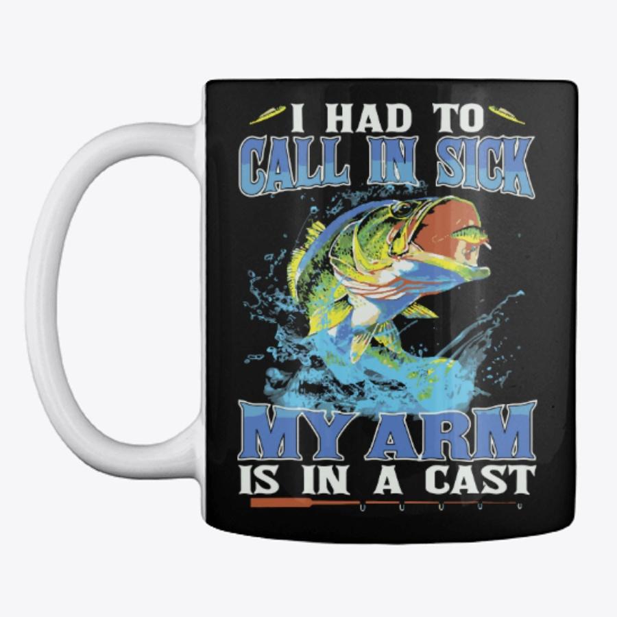 Fishing Call In Sick My Arm Is In Cast - Buy Cheap Fishing Sweatshirts T Shirt Design