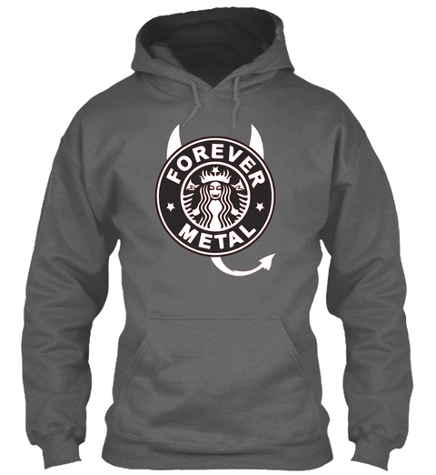 Forever Metal Dark Heather Sweatshirt Front