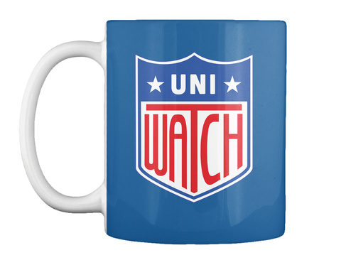 Uni Watch Dk Royal T-Shirt Front