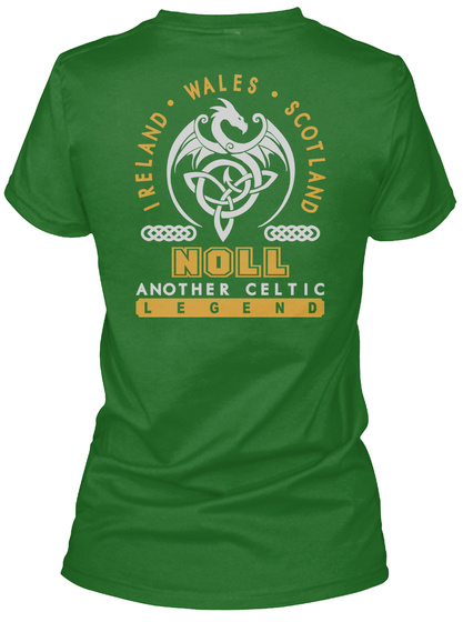 Noll Another Celtic Thing Shirts Irish Green T-Shirt Back