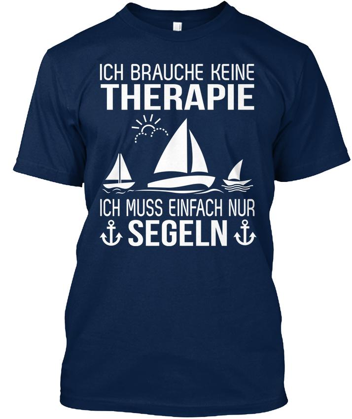 Therapie-Segeln-Kapuzenpullover-T-shirt-Elegant-S-5XL