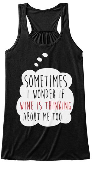 Womens Wine-der Woman S Wine Der Bella Flowy Tank Tanktop