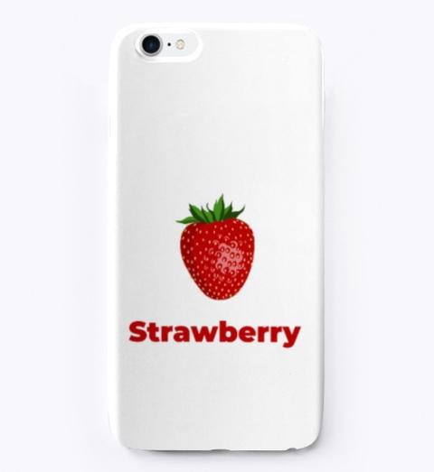 Strawberry Fruit Standard T-Shirt Front