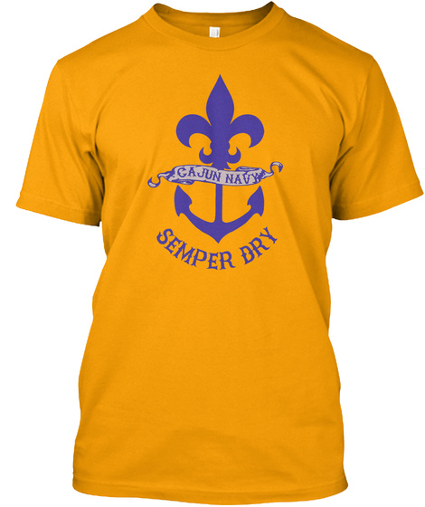 Semper Dry Gold T-Shirt Front