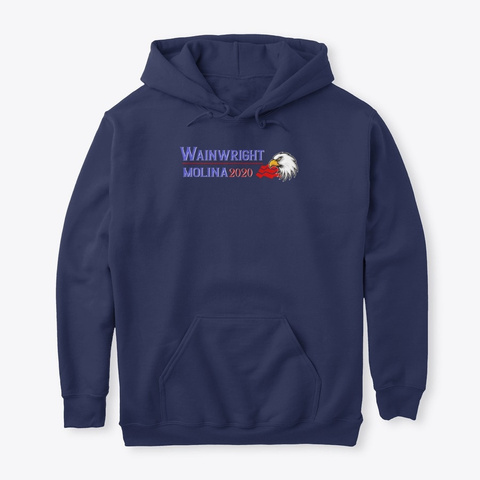 Wainwright Molina 2020 Election Shirts Navy T-Shirt Front