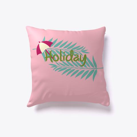 Holiday Pillow   Holiday Pink T-Shirt Front
