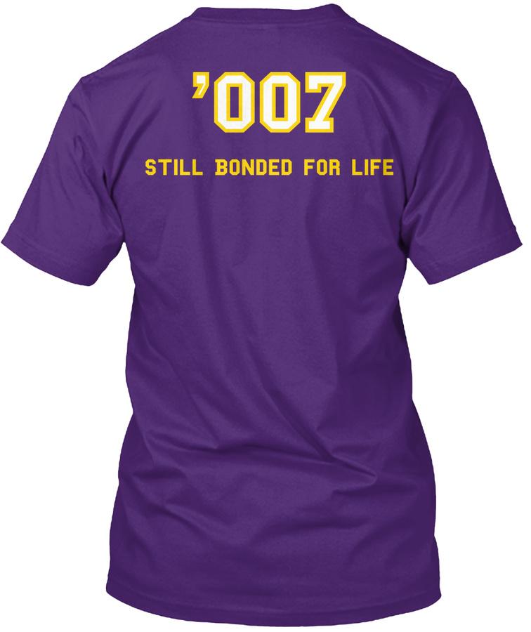 007 Still Bonded for Life with Trojan Unisex Tshirt