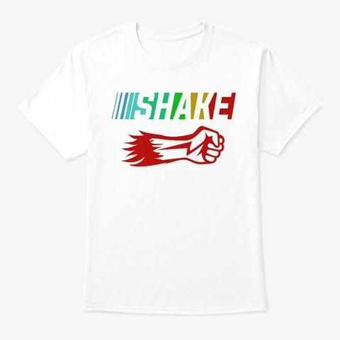 Shake White áo T-Shirt Front