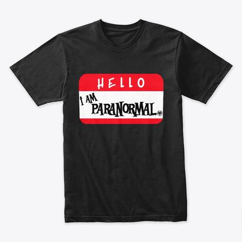 Hello Para Shirt Black T-Shirt Front