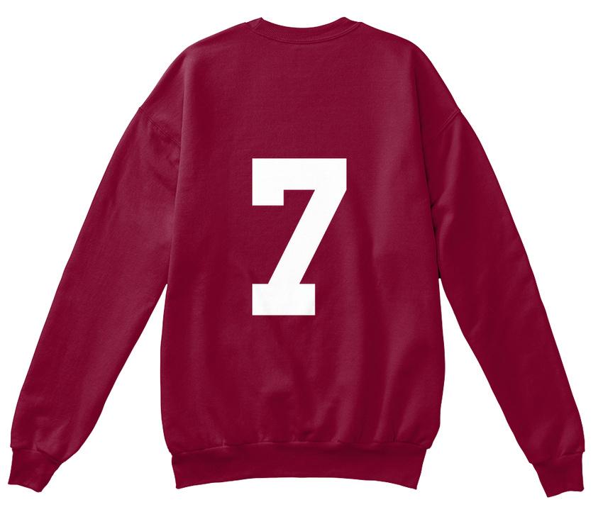 Cl 7 Hanes Unisex Crewneck Sweatshirt Caleb Logan #7 And