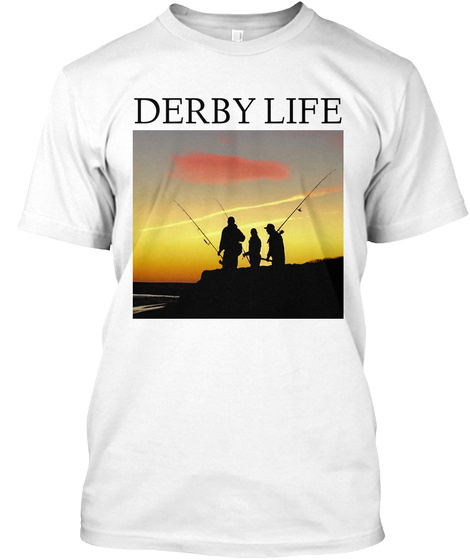 Derby Life White T-Shirt Front