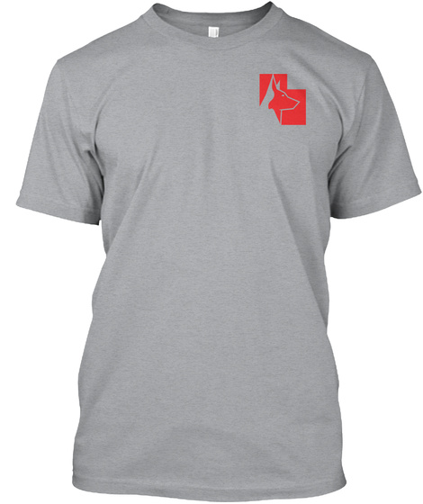 Utah Protection Sports 2017 Heather Grey T-Shirt Front