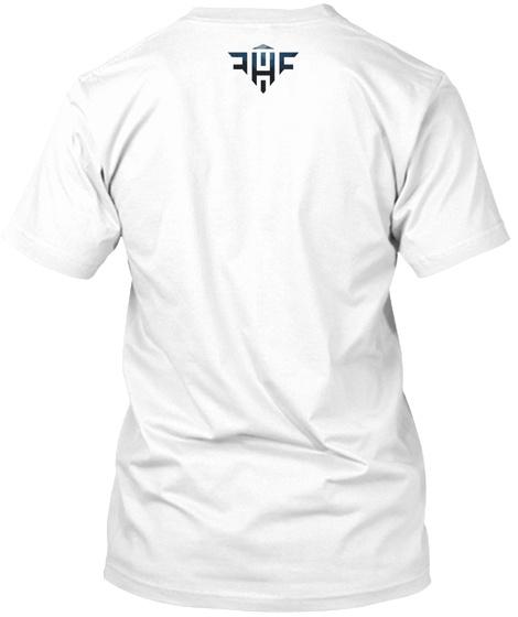 Hawks Nest Basic Inverted White T-Shirt Back