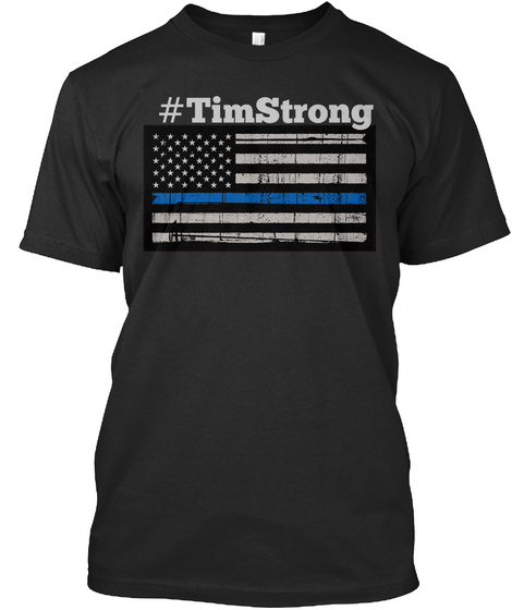 #Timstrong Black Camiseta Front