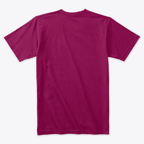 I'm A Hot Pothead Shirts (Dark) Cardinal T-Shirt Back