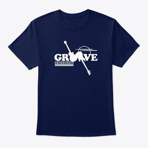 Groove Tee Dark Navy T-Shirt Front