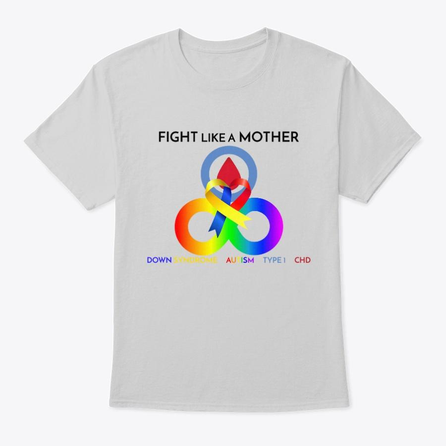 Mother Ds Asd Chd Type 1 Unisex Tshirt