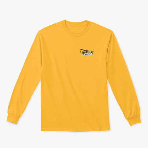 Breast Logo Rollback Gold T-Shirt Front