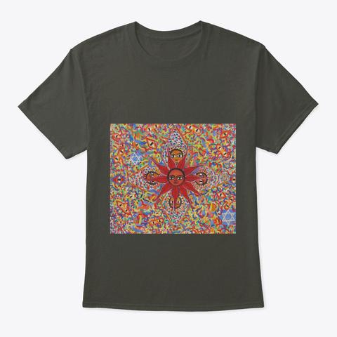 Ethiopian Art  Smoke Gray T-Shirt Front